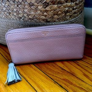 Fossil Pink leather wallet